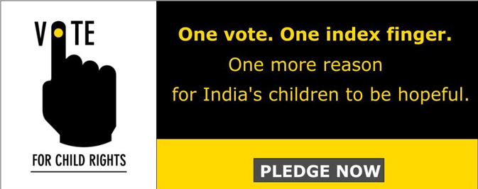 Pledge Now, Vote for Child Rights