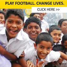 Play Football. Change Lives