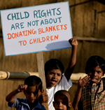 Child Rights are not About Donating Blankets to Children