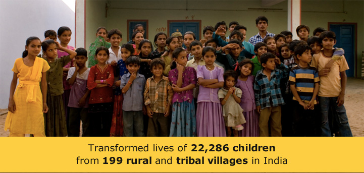 Impacted 21, 249 children in 220 settlements across Gujarat and Jharkhand